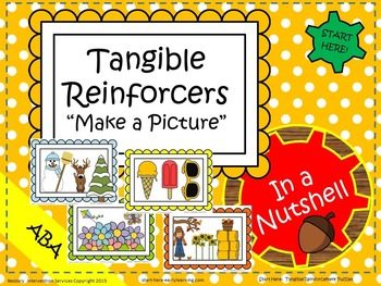 """Tangible Reinforcers """"Complete A Picture"""" Puzzles"""