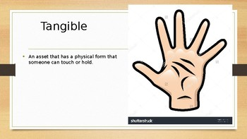 Tangible Vs. Intangible Assets Powerpoint