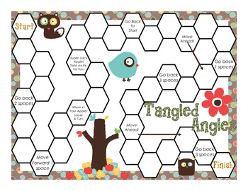 Tangled Angles Board Game