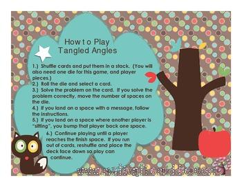 Tangled Angles Board Game