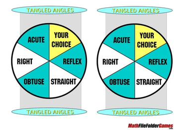 Tangled Angles - Math Angle Games