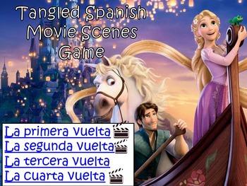 Tangled Fun Spanish Movie Scenes Electronic Game - Enredados