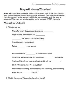 Tangled Listening Packet