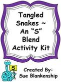 "Tangled Snakes-An ""S"" Blend Activity Kit"
