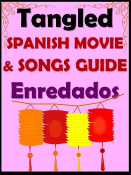 Tangled Spanish Movie Guide - Enredados
