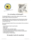 Tangling with Dr. Moon - A Guide to Zentangle® at School