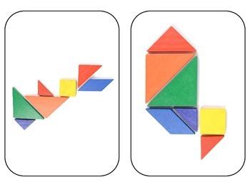 Tangram - 40 examples