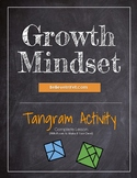 Tangram Activity for Growth Mindset - K and up