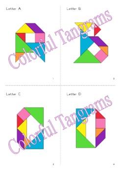 Tangram Animal Alphabet