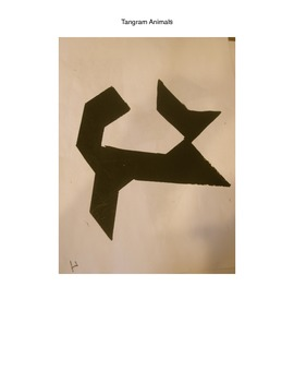 Tangram Animal Template (Set 1)