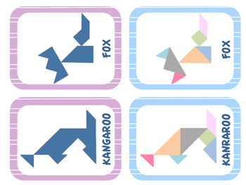 "Tangram ""Animals"""