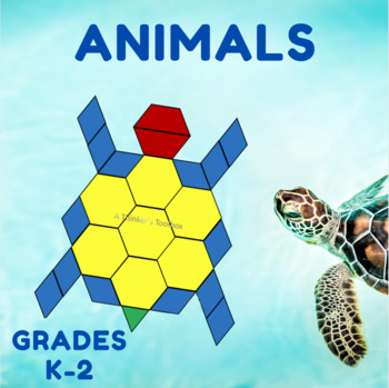 Pattern Blocks Animal Puzzles