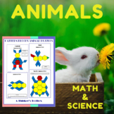 Animal Math & Science Puzzles