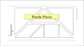 Tangram Bundle - 264 Puzzle Cards