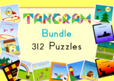 Tangram Bundle - 264 Puzzle Cards