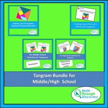 Tangram Bundle for Middle/High  School