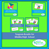 Geometry - Tangram Bundle for Middle/High  School
