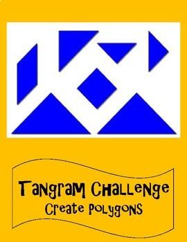 Tangram Challenge - Create Polygons