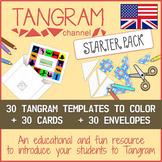 Tangram Channel - STARTER PACK (90 templates)