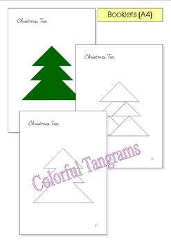 Tangram 20 Christmas Santa Claus Puzzles Puzzle