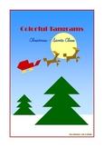 Tangram - 20 Christmas / Santa Claus Puzzles - Puzzle Card