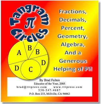 Tangram Circles: Fractions, Geometry, Algebra, and a Gener