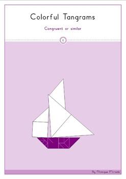 Tangram - Geometry 6: Congruent or similar