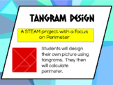 Tangram Design STEAM Perimeter Practice
