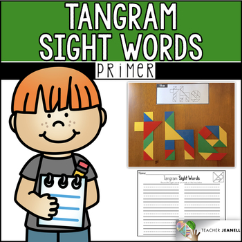 Dolch Primer Sight Words Tangrams