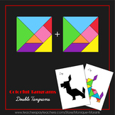 Tangram - Double Tangrams 1 - Puzzle Cards