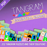 Tangram Channel -  ESSENTIAL CARDS (DIY Activity Project) - 252 TANGRAM PUZZLES