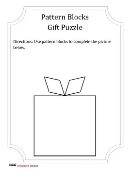 Pattern Blocks FREEBIE