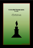 Tangram Freebie - Christmas Puzzle / Candle - Math Mats &