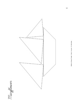 Tangram Freebie - Thanksgiving Puzzle / Mayflower - Puzzle Cards & Math Mats