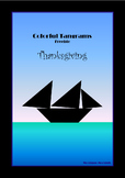 Tangram Freebie - Thanksgiving Puzzle / Mayflower - Puzzle