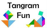 Tangram Fun Bulletin Board Set by Trend Enterprises