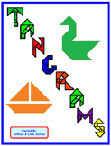 Tangram Mystery Picture and Puzzles:Distance Learning
