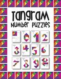 Tangram Number Puzzles