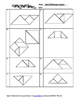 Tangram Pass Around (Geometry)