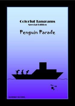 Tangram - 20 Penguin / Antarctica Puzzles - Large pack - Puzzles and Activities
