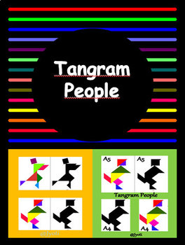 10 Tangram People