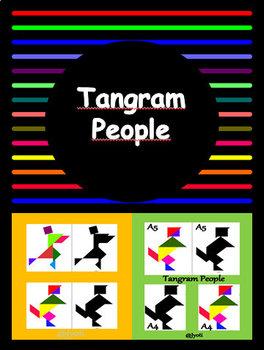 10 Tangram People