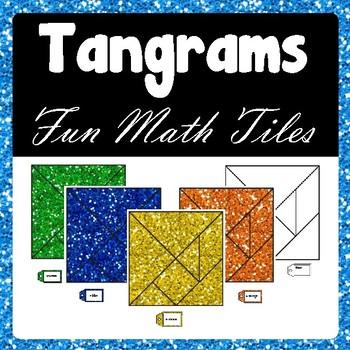 Tangram Pieces - Math Tiles