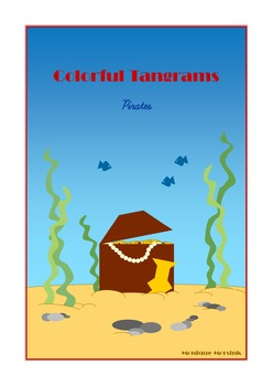 Tangram - 20 Pirate Puzzles - Puzzle Cards & Math Mats