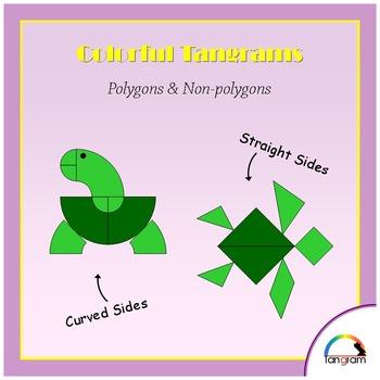 Tangram - Geometry 2: Polygon & Non-Polygon sort