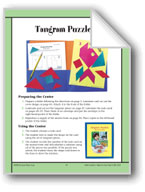 Tangram Puzzlers (Geometric Shapes)