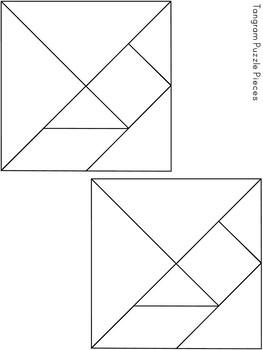 Tangram Puzzles ~ Alphabet