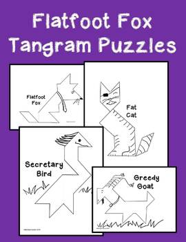 Tangram Puzzles for Flatfoot Fox