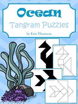 Tangram Puzzles ~ Ocean