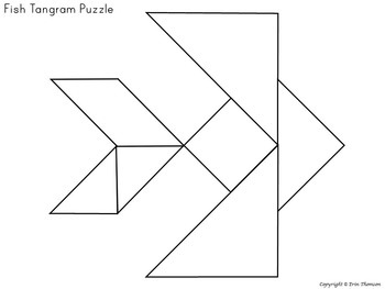 photograph about Printable Tangrams Pdf Free called Tangram Puzzles ~ Ocean